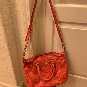 Brand new Coach pink satchel